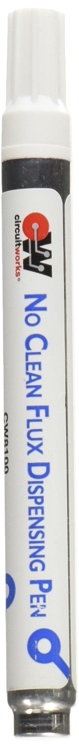 Chemtronics CircuitWorks CW8100 No Clean Flux Dispensing Pen, 9ml