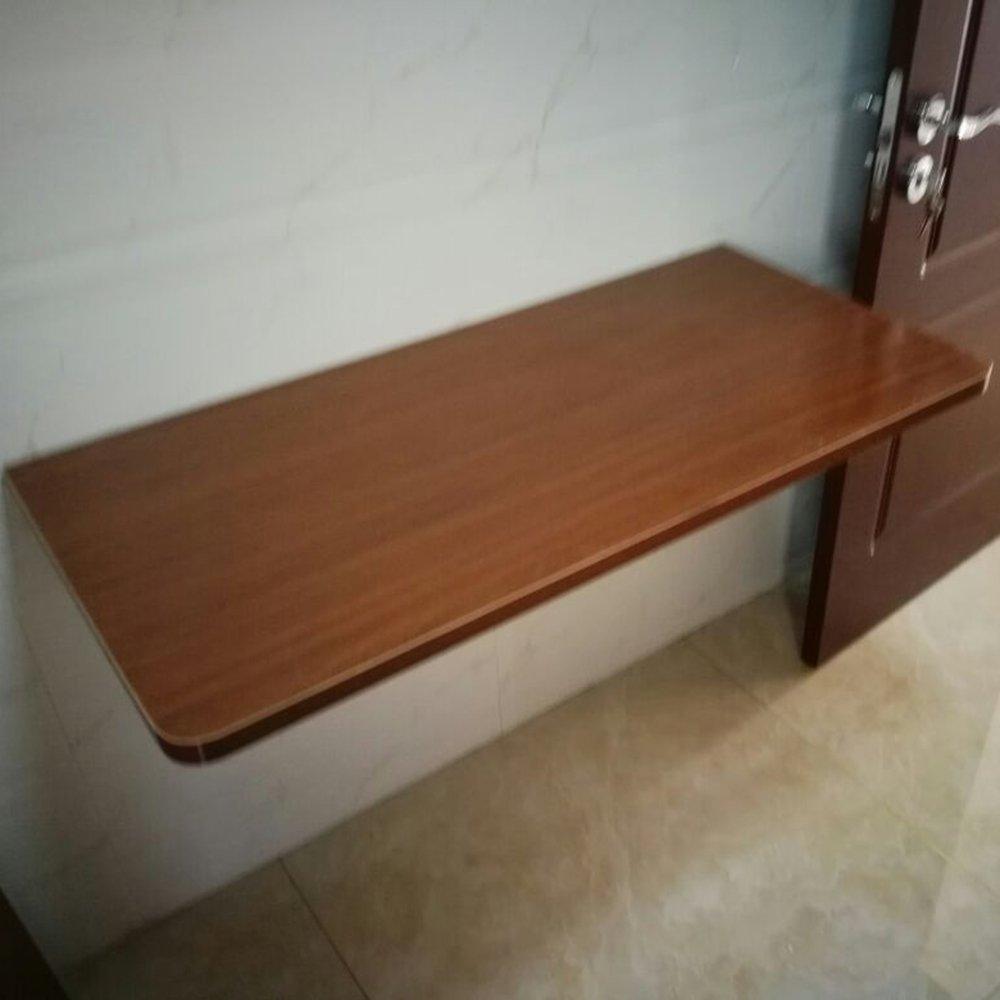 マチョン コンピュータデスク 壁掛け式ピアノ塗料折りたたみテーブル (色 : ブラウン ぶらうん, サイズ さいず : 70*50cm) B07DZP2MQQ 70*50cm|ブラウン ぶらうん ブラウン ぶらうん 70*50cm