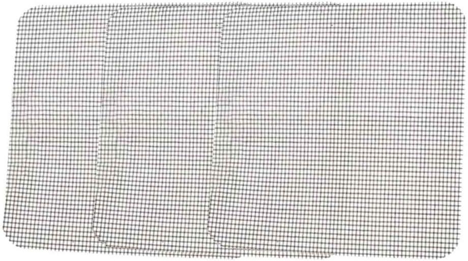Lorjoy 3 UNIDS Anti Insect Fly Bug Door Window mosquitera Pantalla reparaci/ón de la Red Parche
