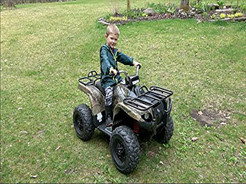 Grizzly All-Terrain Vehicle 24-Volt Quad For Kids