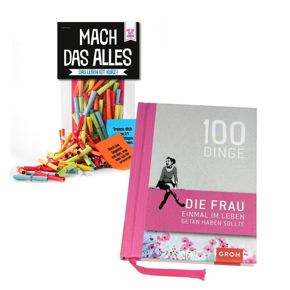 Monsterzeug 2er Geschenkset Frauen Mach Das Alles Lose Buch 100