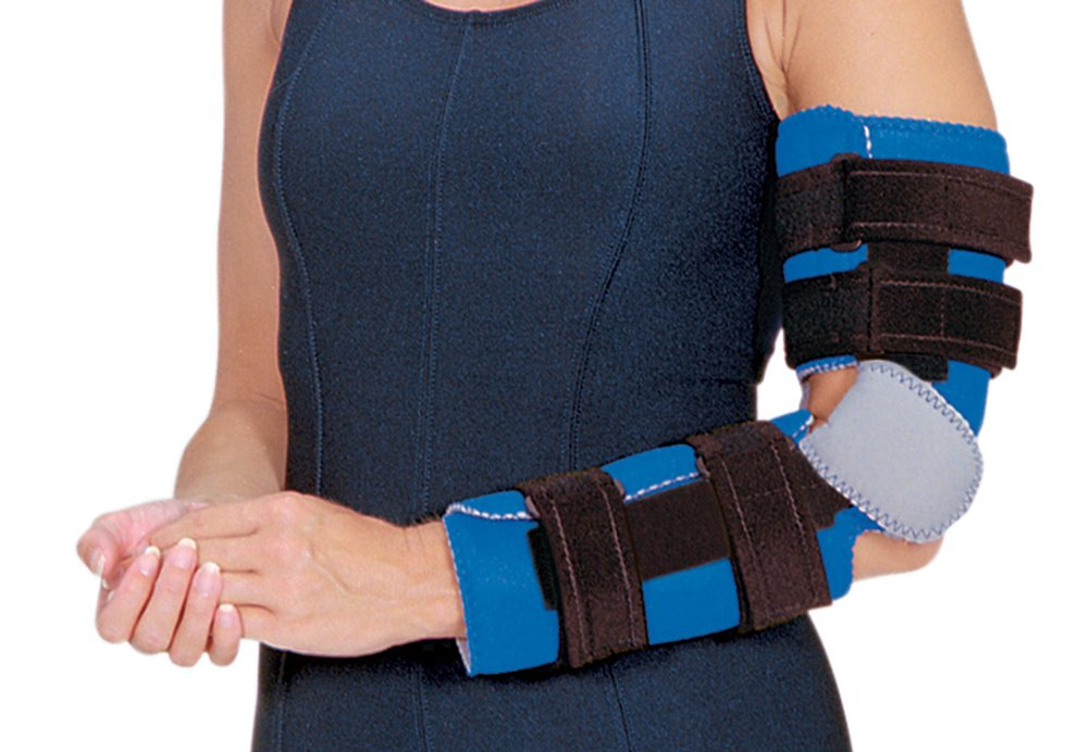 Flex Cuff Elbow Orthosis, Size: Medium, Mid-Humerus Circumference: 10''-12'' (25.4-30.5cm) by Rolyn Prest