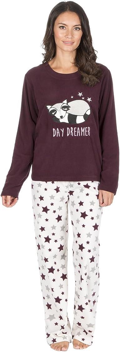 TALLA M. Pijama de Navidad Forever Dreaming, de forro polar de 2 piezas