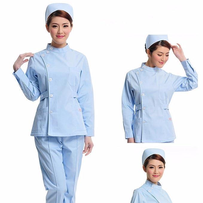 Xuanku Droguerias, Ropa De Trabajo, Enfermeras, Enfermeras, Dentistas, Medicos, Ropa De Trabajo: Amazon.es: Ropa y accesorios