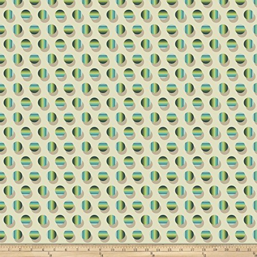 - Joel Dewberry Avalon Poka Stripe Jade Fabric by The Yard