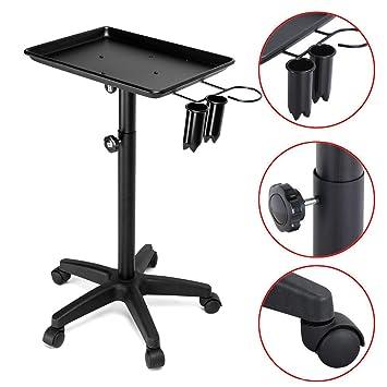 Fine Amazon Com Rolling Salon Tray Cart Barber Hairdressing Interior Design Ideas Ghosoteloinfo