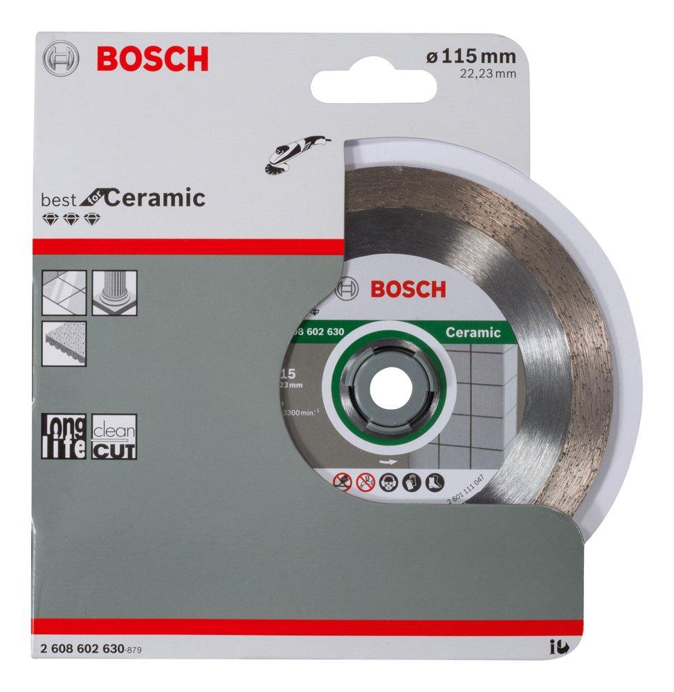 Disco de corte de diamante Best for Ceramic 115 x 22,23 x 1,8 x 10 mm pack de 1 Bosch 2 608 602 630