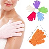 Pindia Bath Gloves Spa Massage Body Scrubber Cleaner (DC1700536) - 1 Pair