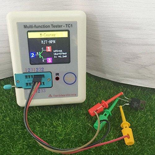 TC1 Complet Couleur Graphique Affichage Monggood de Poche Multifonction Transistor Testeur Lcr