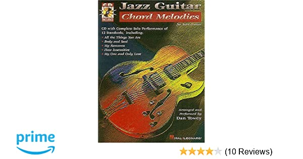 Amazon.com: Jazz Guitar Chord Melodies for Solo Guitar (with CD ...
