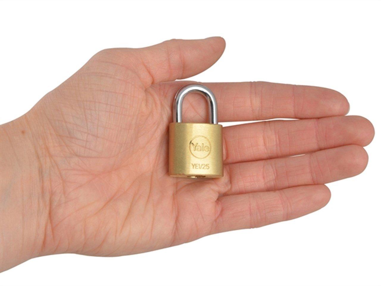 Yale YE1//40//122//1//B Candado de Seguridad de Arco Corto 40 mm