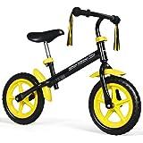 INFANS Lightweight Balance Bike, Kids Training Bicycle with Height Adjustable Seat & Handlebar, Inflation-Free EVA Tires, No-