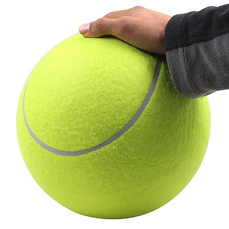 Huayanga - Pelota de tenis para perro, tamaño grande, 22,86 cm ...