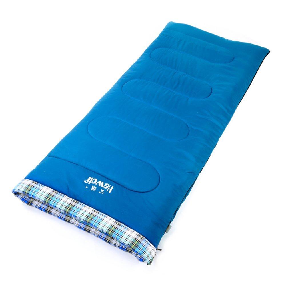 Erwachsene im Freien Schlafsack/Herbst und Winter dicke warme Schlafsack/Cotton Camping Schlafsack Mittagspause Umschlag