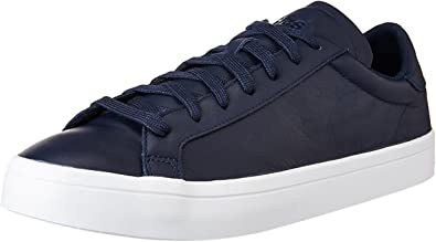 adidas court vantage blu
