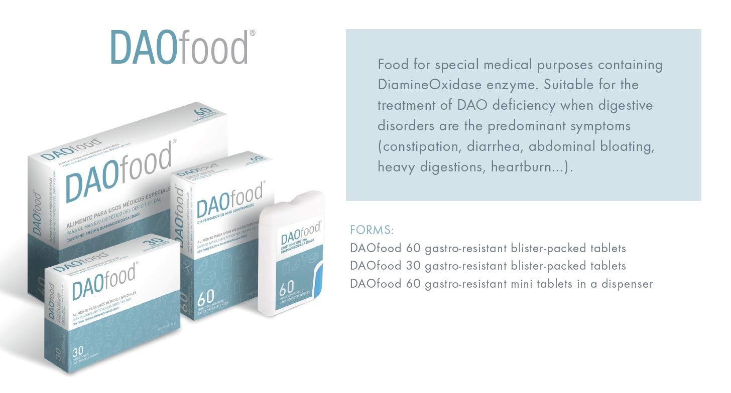DR Healthcare DAOfood CAlimento para el manejo dietético del déficit de DAO, 60 comprimidos