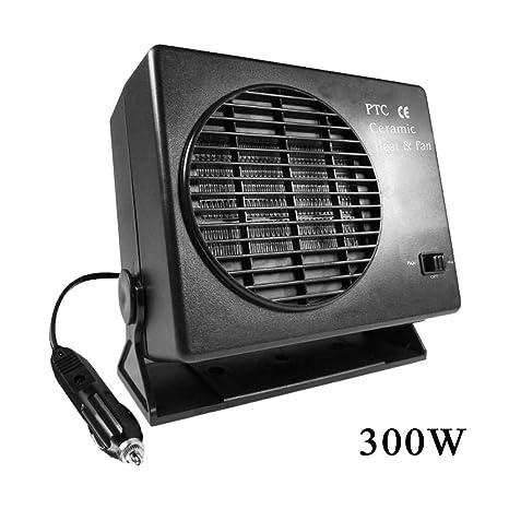 SinceY Radiador termoventilador, cerámica automático de Coche camión Ventilador PC Portátil anticongelante de Ventana 12