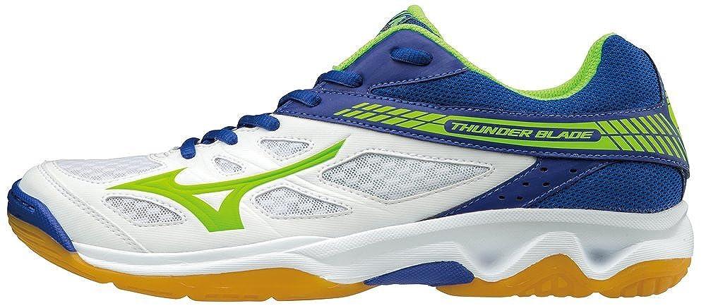 Mizuno , Herren Volleyballschuhe weiß bianco blu verde