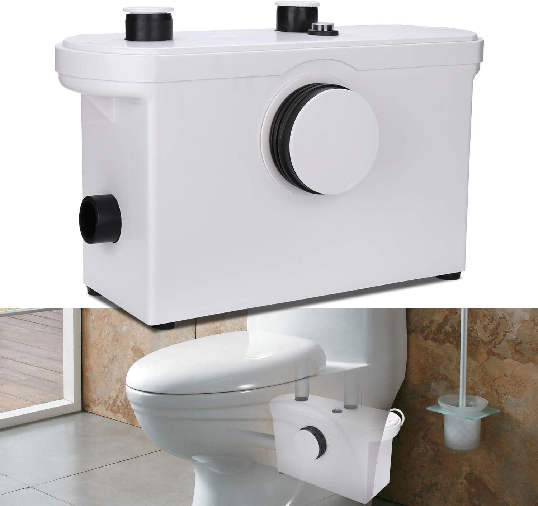 Hengda 600W 3/1 triturador sanitario bombeador WC Trituradora de ...