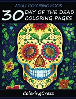 Day of the Dead Coloring Book (Coloring is Fun): Amazon.co.uk ...