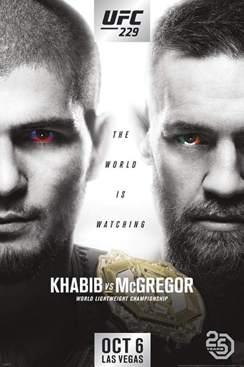 Khabib Nurmagomedov Fight Champ Framed Poster Autographed Print A1 A2 A3 A4