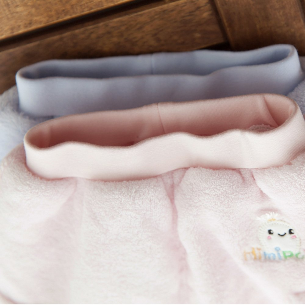 Himipopo Newborn Baby Pants Coral Velvet Winter Baby Jogger Pants Winter Thicken Keep Warm