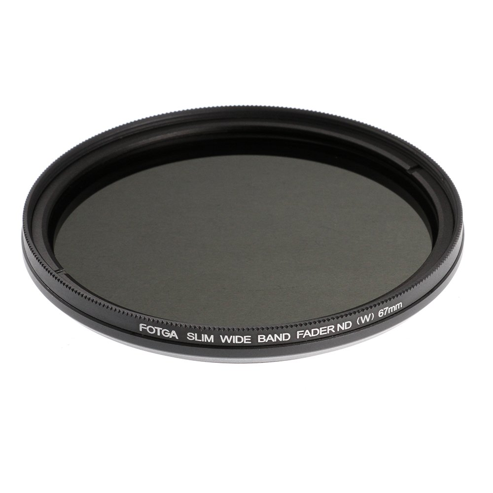 Fotga 58mm Super Slim Optical Grade Neutral Density ND1000 Filter for DSLR Digital Canon Nikon Sony Pentax Camera Lens