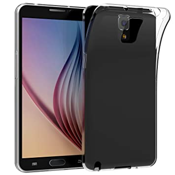 JETech Funda para Samsung Galaxy Note 3, Anti-Choques y Anti-Arañazos, Transparente