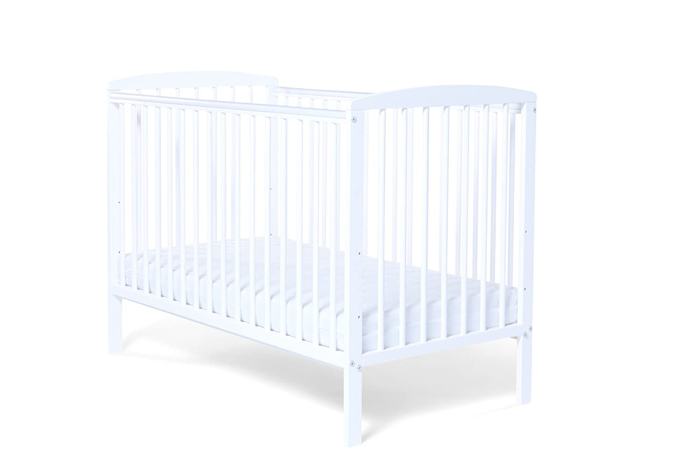 Baby Elegance Starlight Cot (White) 3198