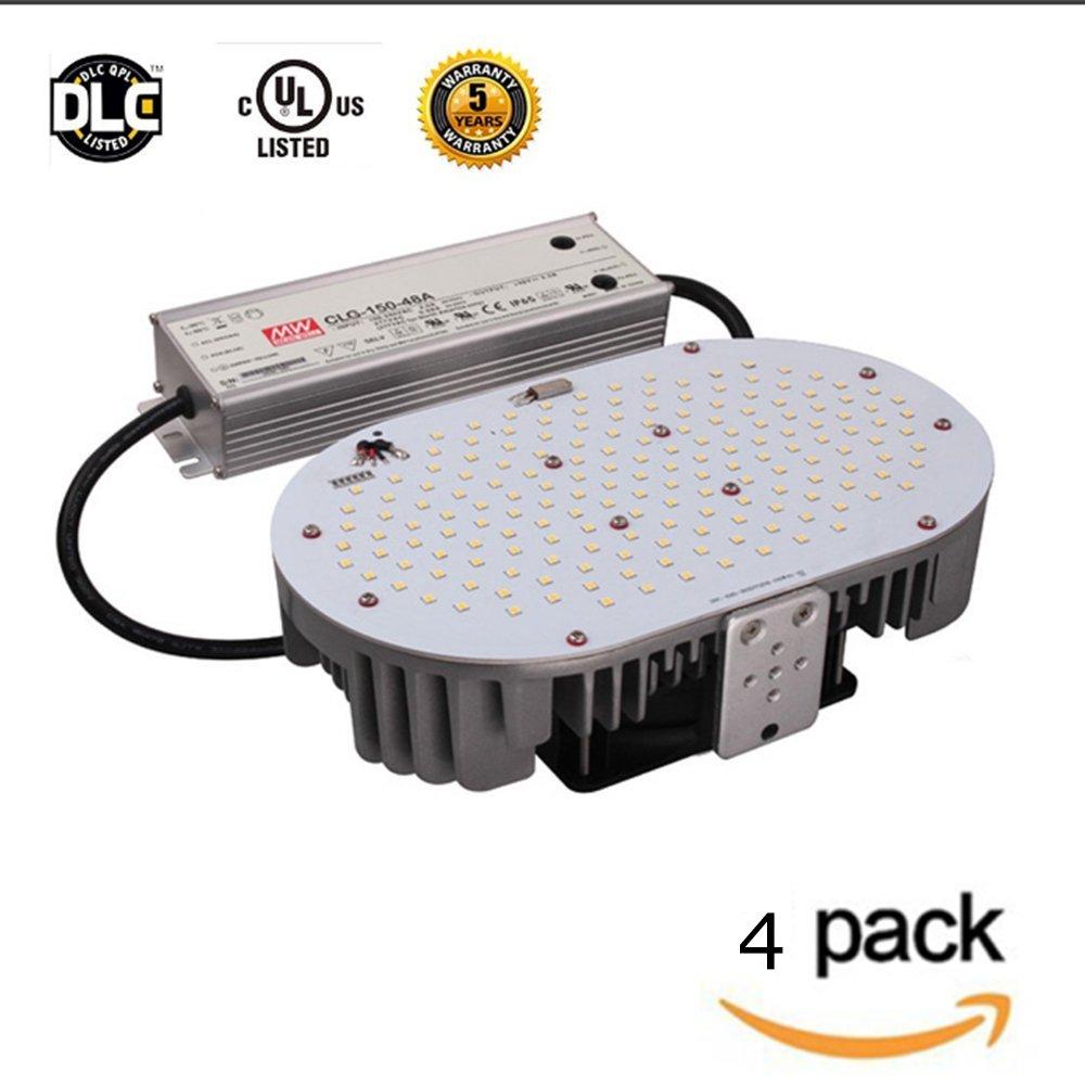 LED Flying Direct 4-pack,120w LED Retrofit Kit Light Replace 400w Street Lamp Flood Light Parking Lots lamp Power Source,UL DLC (120 Watts)