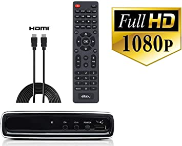 eXuby Converter Box for TV w// HDMI Cable for Recording and Viewing HD Channels