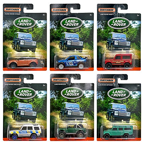 Matchbox - Land Rover - Exclusive Limited Edition Set of 6 Diecast 6 Wheel Range Rover