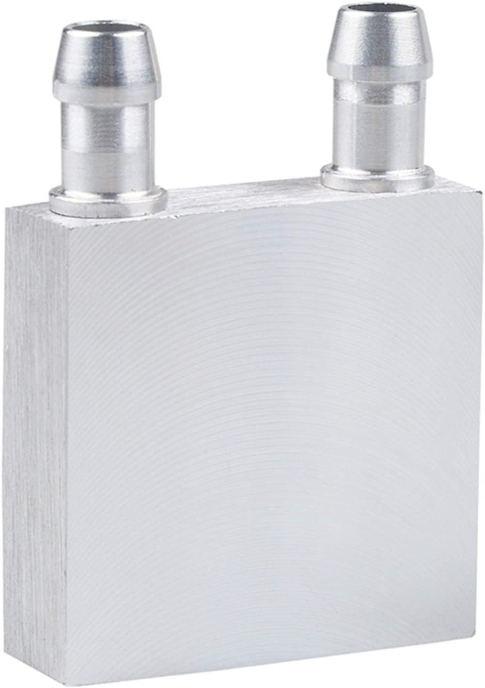 DGZZI Aluminum Water Cooling Block for CPU Graphics Radiator Heat Sink 40 x 40x12mm Liquid Water Cooler