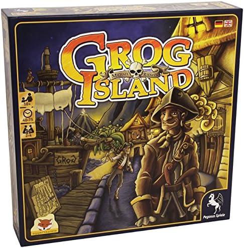 Pegasus Grog Island - Juego de Tablero (29,5 cm, 29,5 cm, 7 mm): Amazon.es: Juguetes y juegos