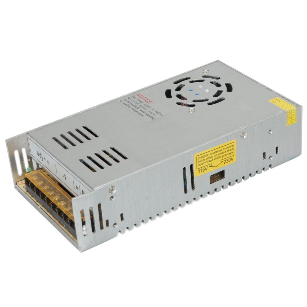 Surom 12v 30a Dc Universal Regulated Switching Power Supply 360w For Over Voltage Protector Electronics Project Cctv Radio Computer Computers Accessories