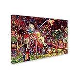 Flare Gun by Josh Byer, 22x32-Inch Canvas Wall Art