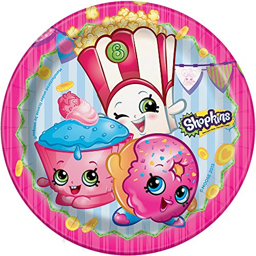 Shopkins Dessert Plates, 8ct ()