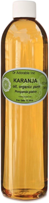 Karanja Aceite Orgánico 100% puro 24oz