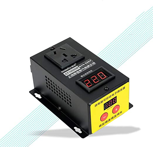 SMGPYDZYP Convertidor de Voltaje, 10000W regulador de Voltaje ...
