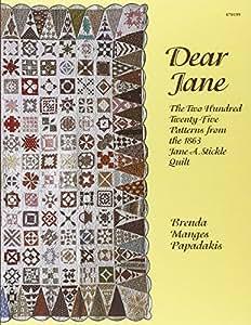 Dear Jane forro para Quilting libro