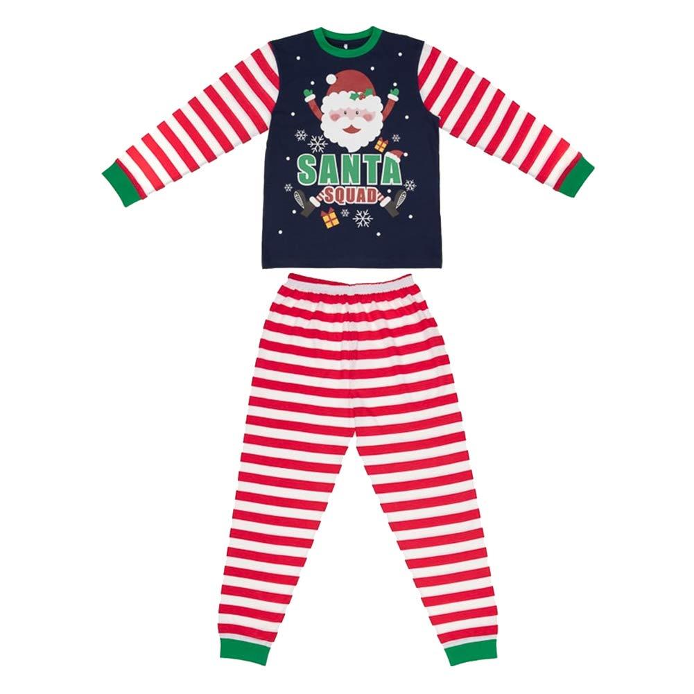 2d6f6884d Santa Squad PJs Matching Family Christmas Elf Pyjamas Mens Womens ...