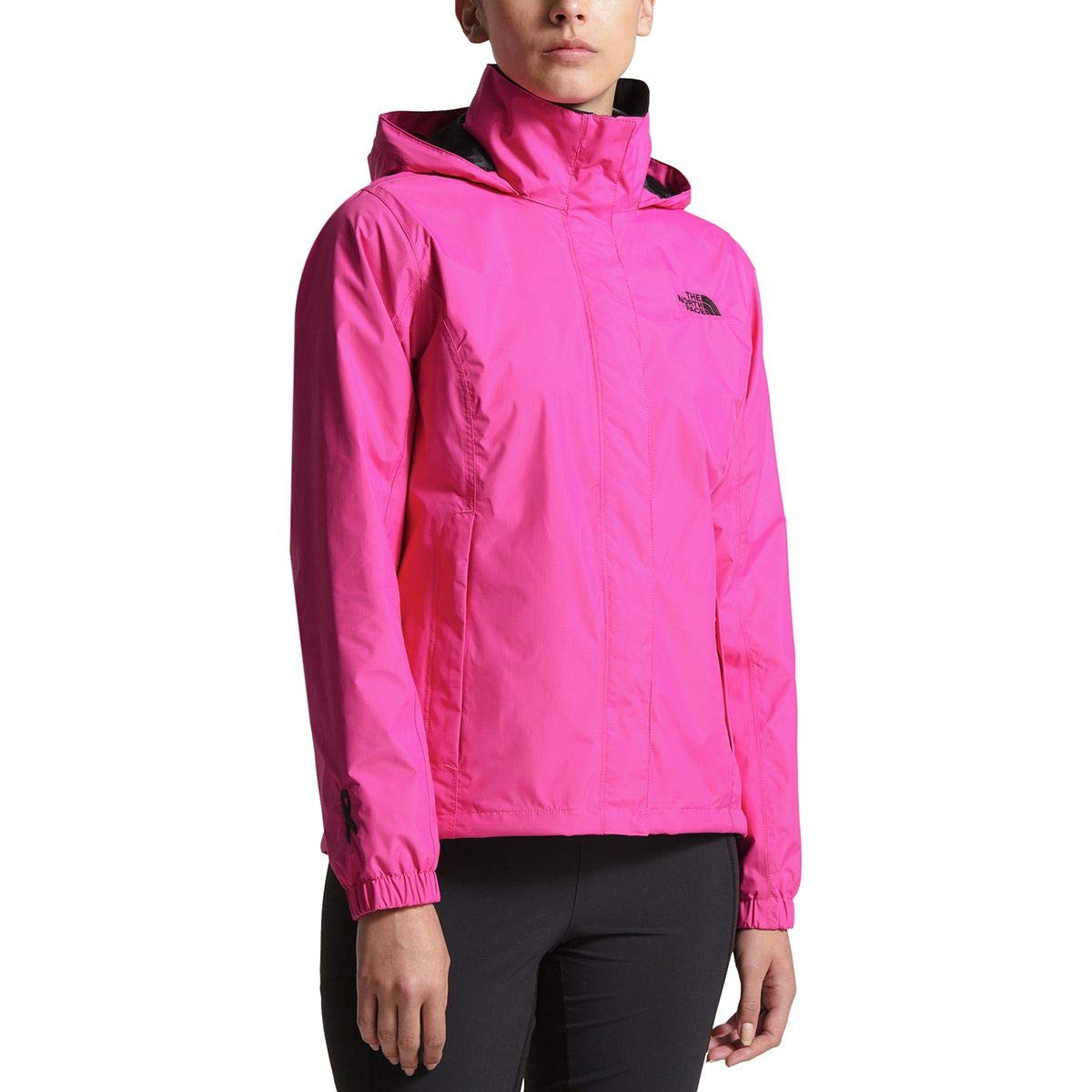 c713f40d1 The North Face Women's Pink Ribbon Resolve Jacket - Raspberry Rose ...