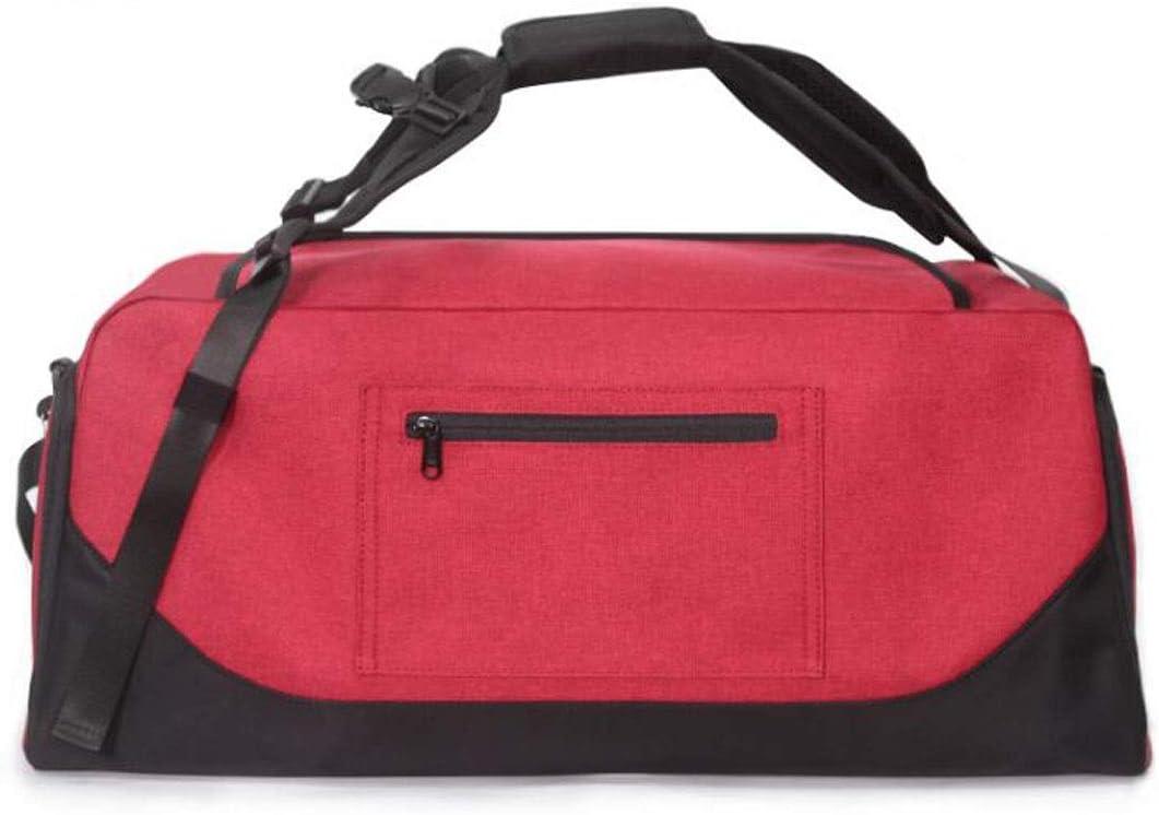 Shoulder Travel Backpack Travel Bag Large Capacity Gym Bag Kaiyitong Sports Bag Shoulder Bag Color : Black Size: 602928cm