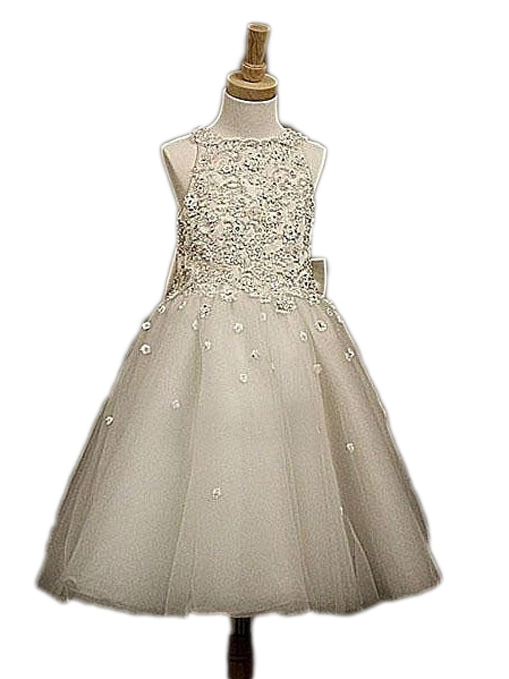 Love Dress Tulle Applique Wedding Girls Dress Christmas Present Us 6