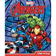 Marvel Avengers Look & Find Hardcover Book (9781503734050)