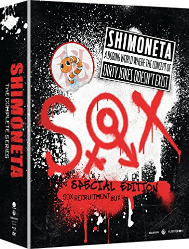 Shimoneta: A Boring World Where the Concept of Dirty Jokes Doesn't Exist (Limited Edition Blu-ray/DVD Combo)