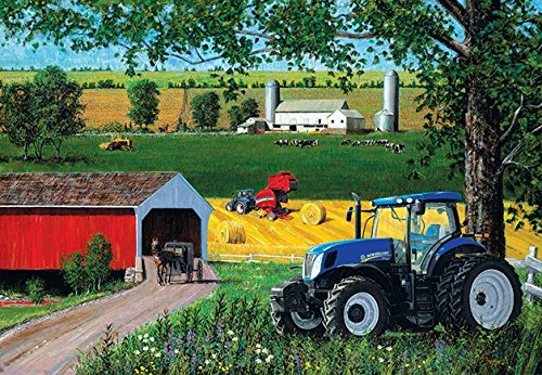 New Holland Lancaster County 500 Piece Jigsaw Puzzle by SunsOut