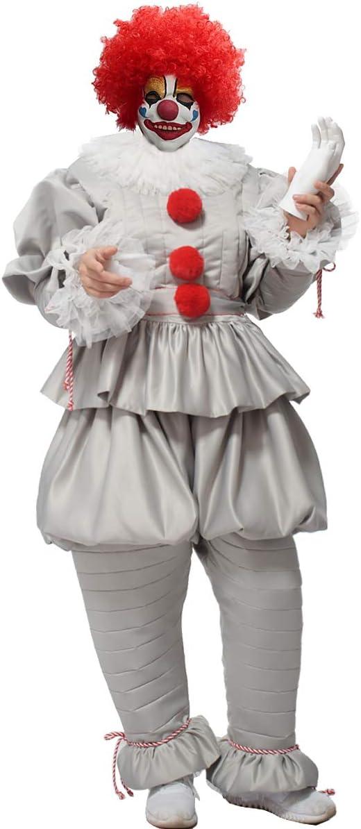 GRACEART Payaso Disfraces de Halloween Cosplay Disfraz de Payaso ...