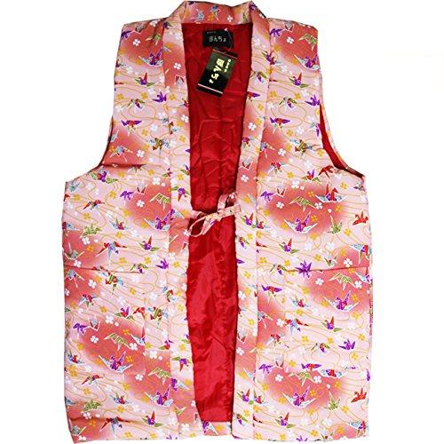 軽くて暖かなちりめん 和柄 羽織り ポンチョ 122-8101