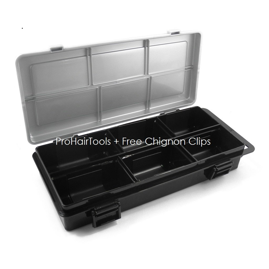 Magnetic Hair Stylist Up Styling Hair Pin Case + Free YS Park Chignon Clips ($13 value) by Pro Hair Tools
